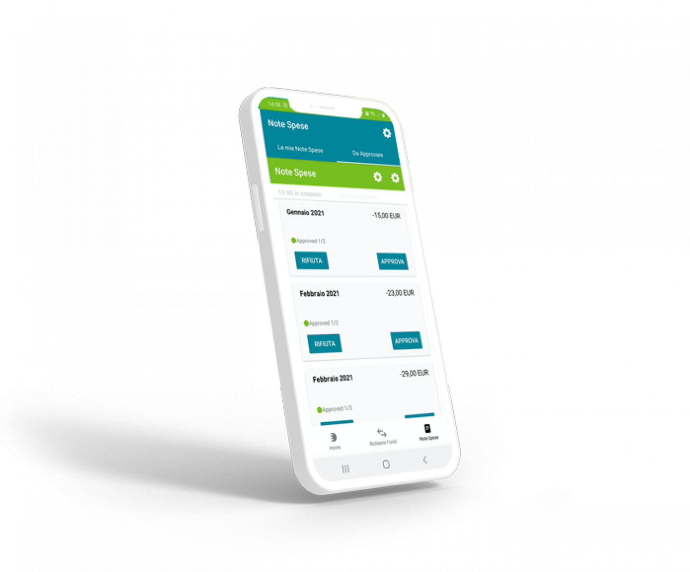 App-ExpendiaSmart-Edenred-nota-spese