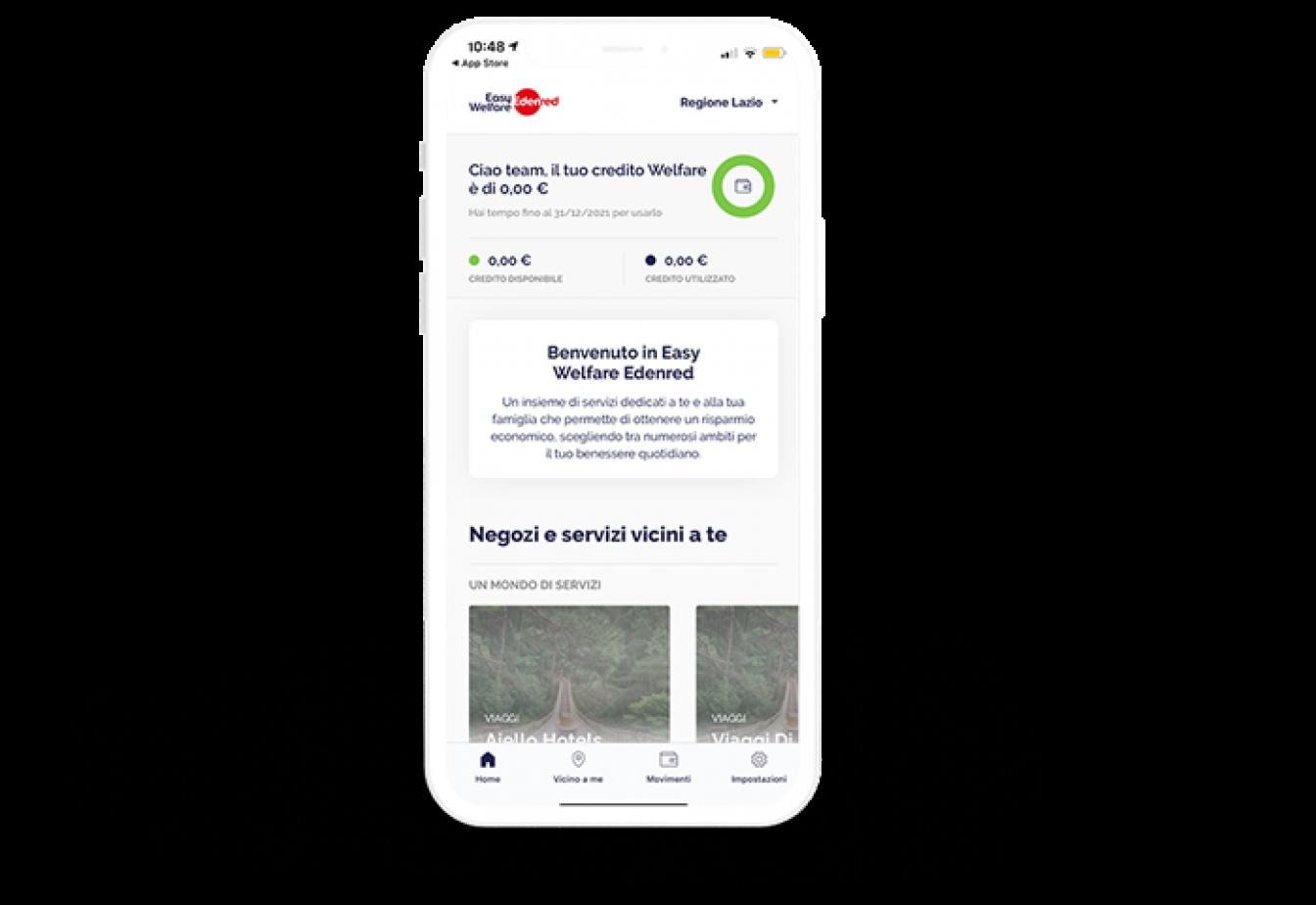 App-Welfare-Aziendale-Easy-Welfare-Edenred-Saldo-Front