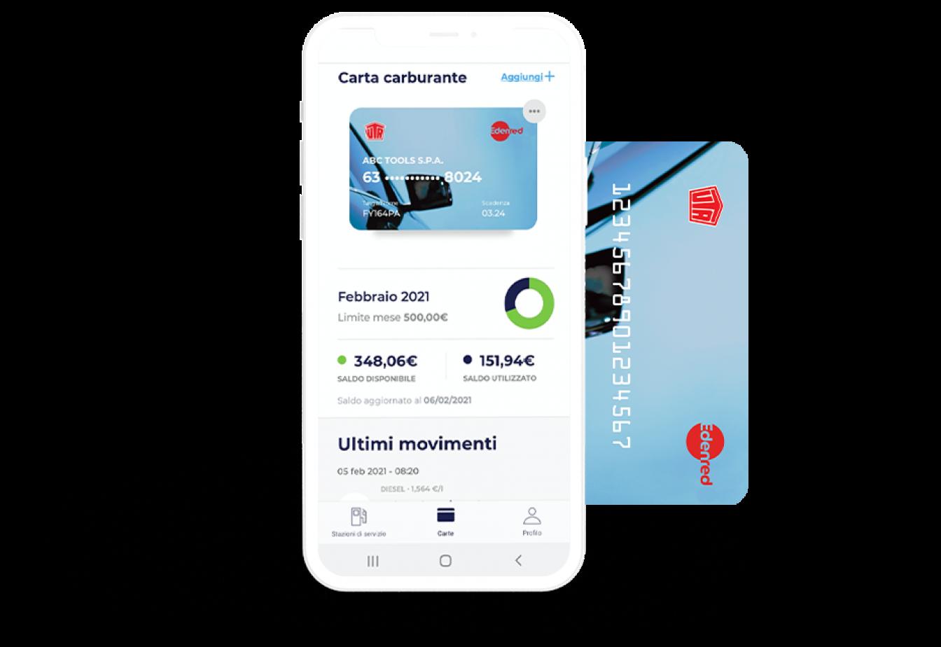 App-carta-carburante-Edenred-UTA-la-carta-UTA
